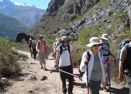 Jobs Boot Camp Inca Trail to Machu Picchu successfully completed