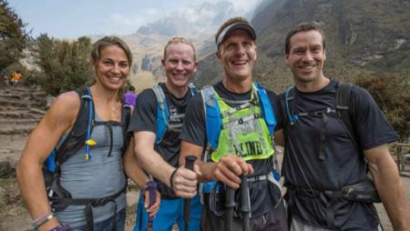 Dan Berlin, the blind athlete who finished the Inca Trail in 13 hours