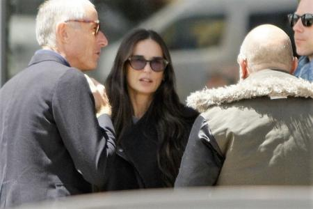 Actress Demi Moore, came to Cusco and Machu Picchu today would be