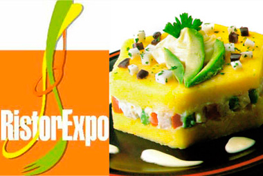 Peruvian cuisine inaugurated RistorExpo 2012 in Italy