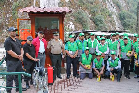 Municipality of Machu Picchu opened four seats of fast relief of citizen security