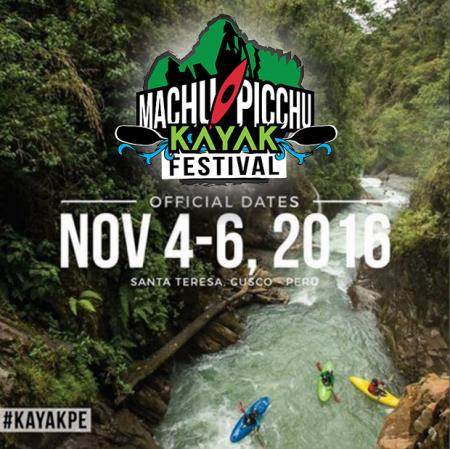 "Registration is now open for the first festival of rafting in Cusco ""Machu Picchu Kayak Fest"""