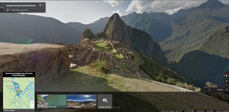 Machu Picchu is already part of Google Street View