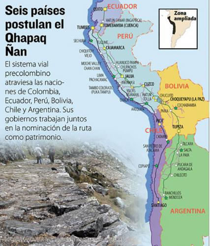 Six countries meet to fully recover the Qhapaq Ñan or Inca Trail