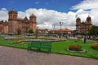 Cusco is located in third place in the campaign to choose the Seven Wonders Cities of the World
