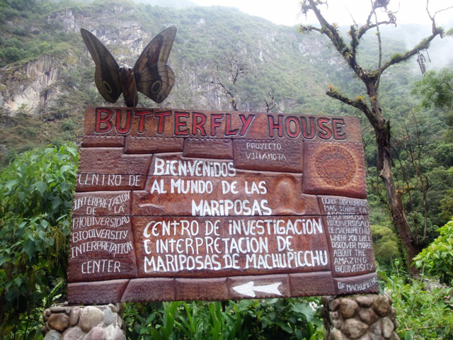 Butterfly House of Machu Picchu